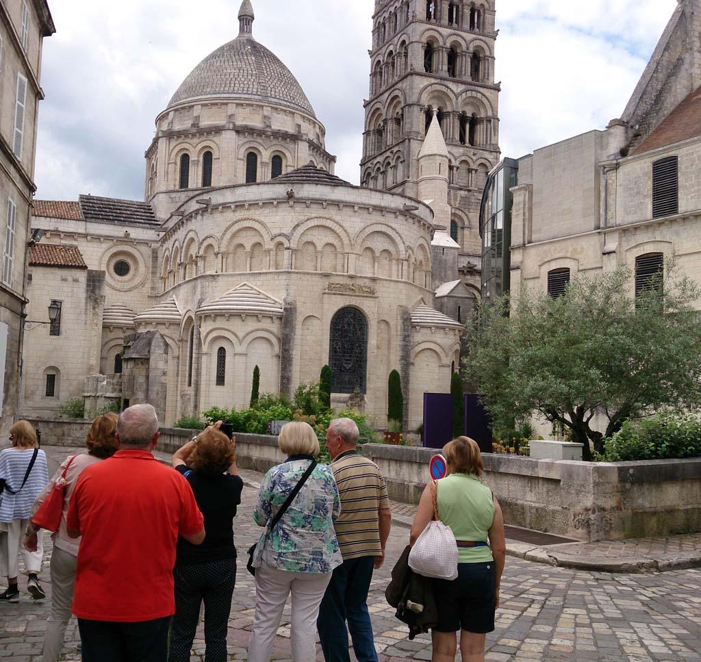 Itinerario Aquitania 2017 junio
