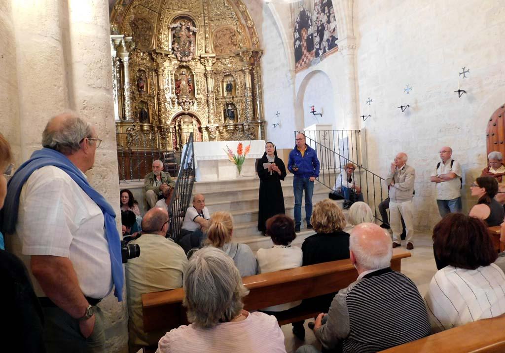 Visita al monasterio de Palacios de Benaver (Burgos)