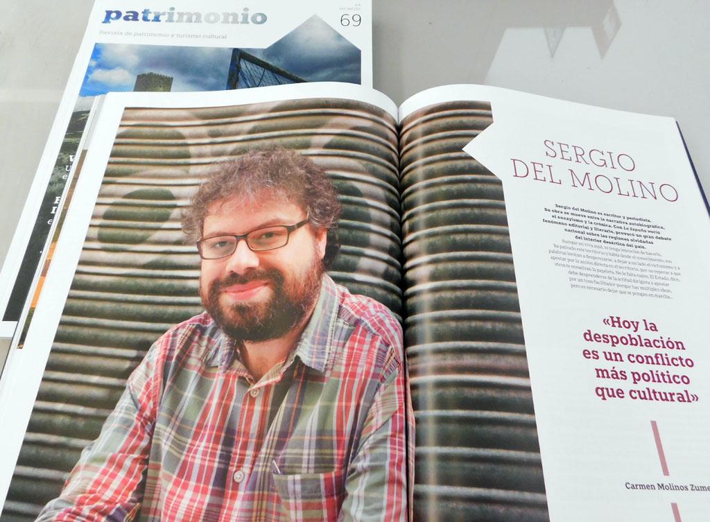Detalle revista Patrimono 69_Sergio del Molino