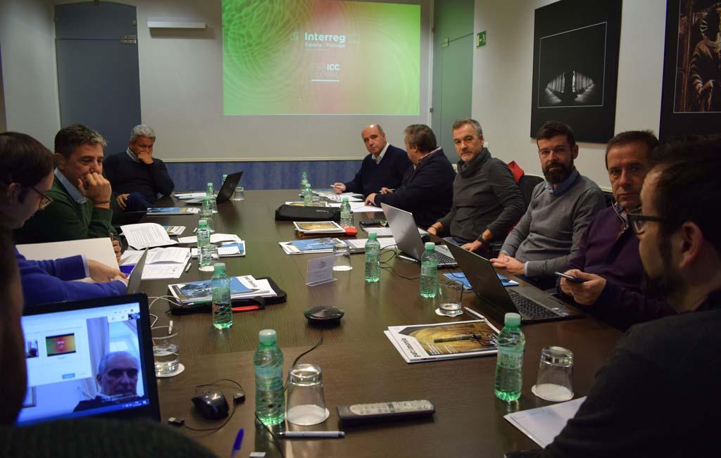 Un momento de la reunión de IBERICC Global en nuestra sede de Valladolid