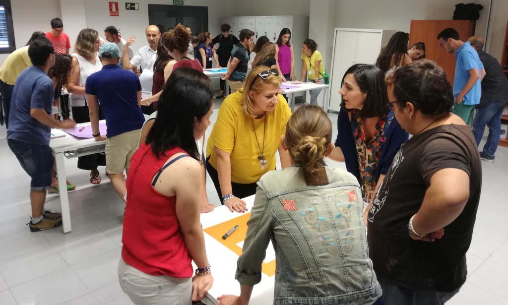 Dinámica de trabajo en el programa Lanzaderas de Empleo