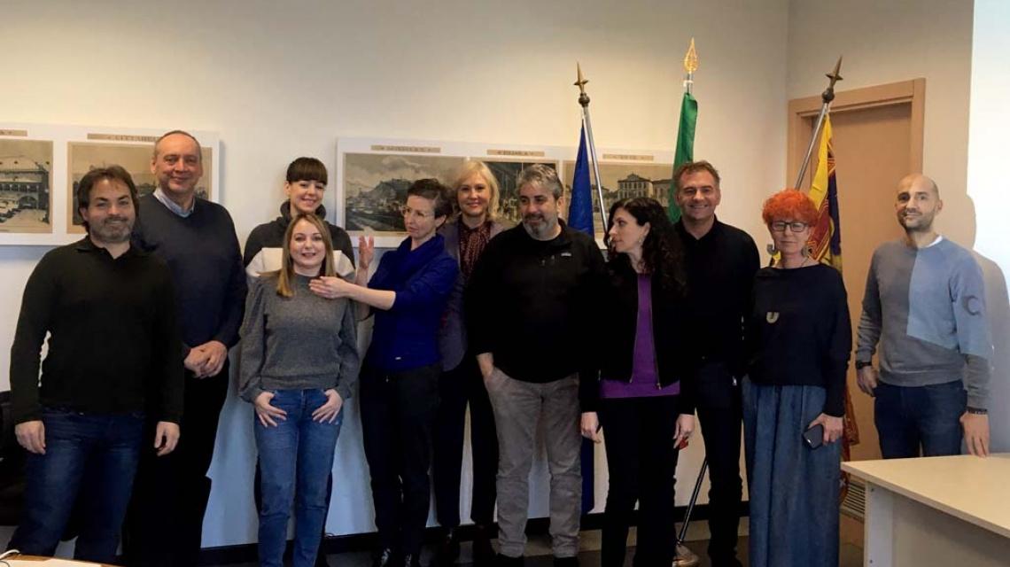 Reunión de equipo del proyecto MUS.NET en Padua