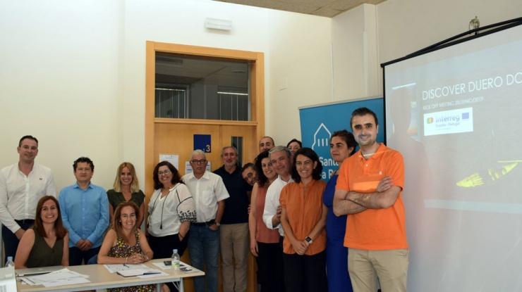 Reunión de inicio del proyecto Discover Duero Douro en Valladolid