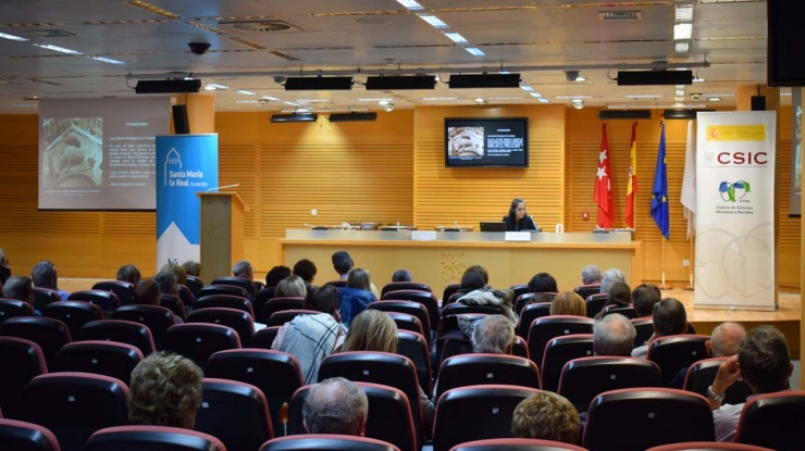 Sesión de cierre de las I Jornadas de Arte Románico que celebramos en Madrid