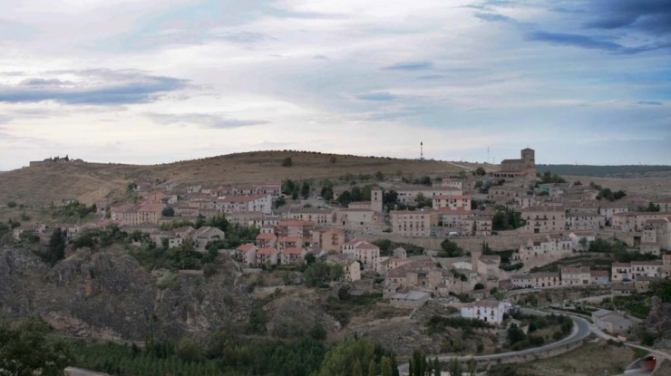 Vista del pueblo de Sepúlveda
