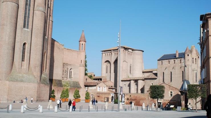 catedral  de Albi, Languedoc