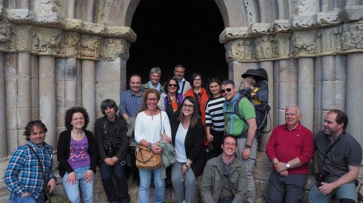 Fotografía de grupo del Blog Trip #EscapadaRománica