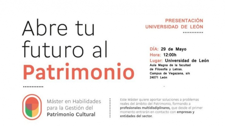 Presentación Máster Habilidades en León
