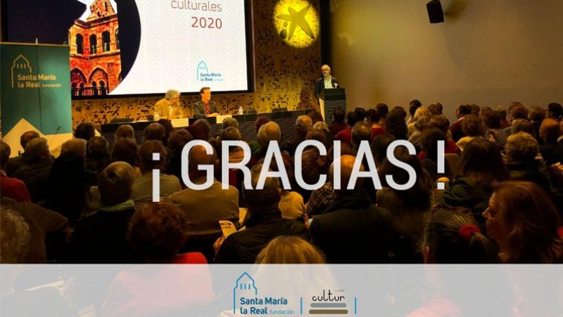 Un momento de la presentación del catálogo de actividades culturales 2020