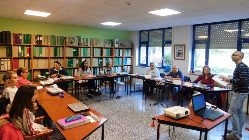 Primera sesión del programa mixto iniciado en noviembre de 2019 en Tercera Actividad Aguilar