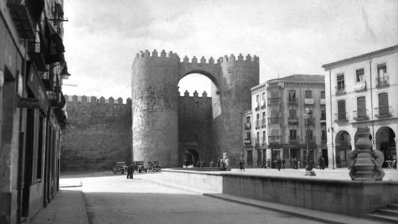 Muralla de Ávila, archivo Zubillaga