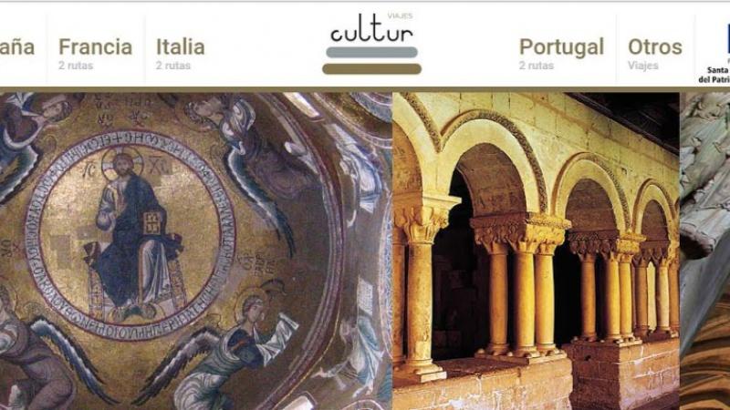 Portada web Cultur Viajes