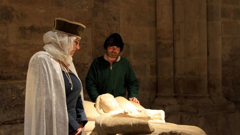 Visita Teatralizada al Centro Expositivo Rom en el Monasterio de Santa María la Real