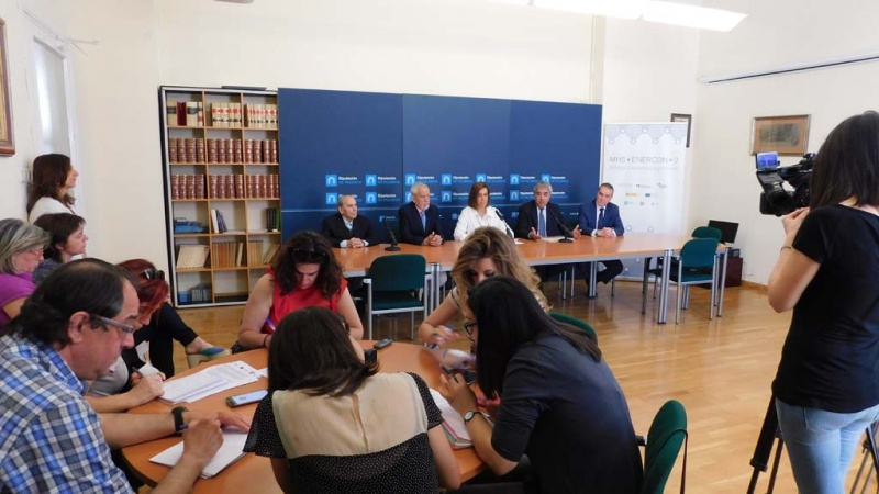 Presentación MHS-EnerCon2 en Palencia