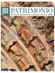 Portada de la revista Patrimonio n. 58
