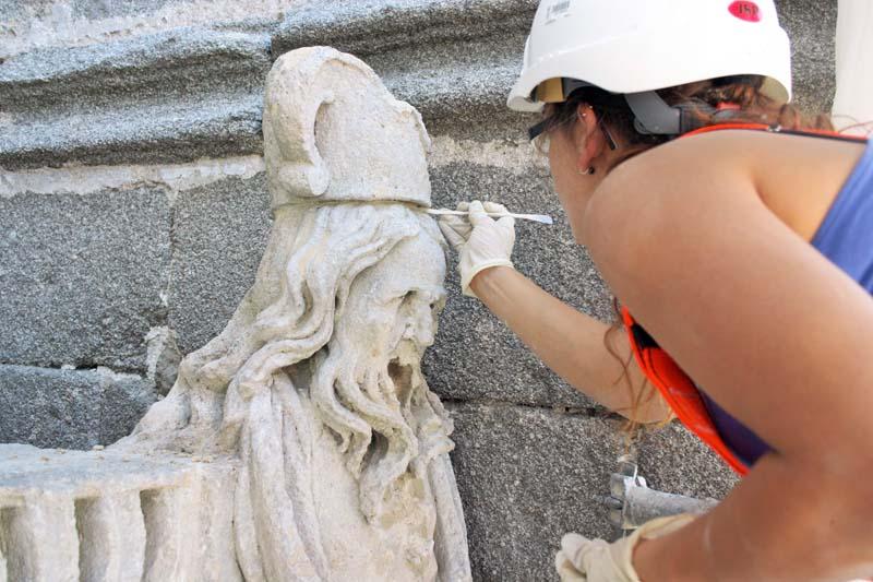 Limpieza Fachada Occidental, Catedral Ávila