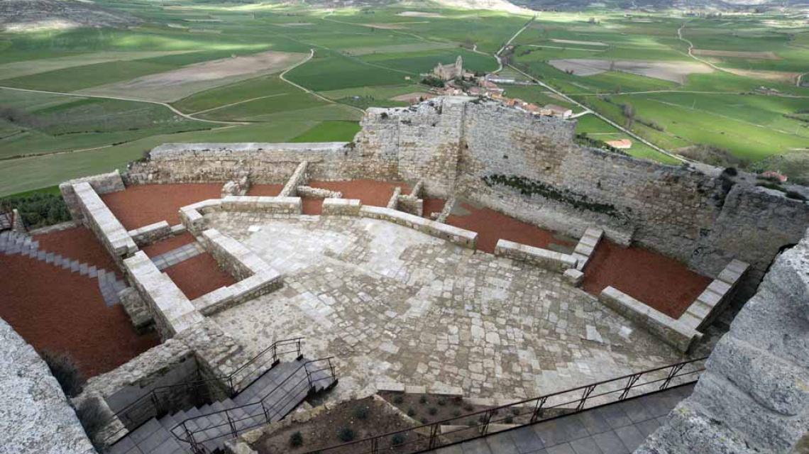 Castillo de Castrojeriz (Burgos)