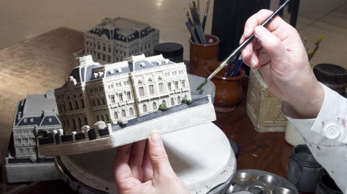 Maqueta Ornamentos Arquitectónicos