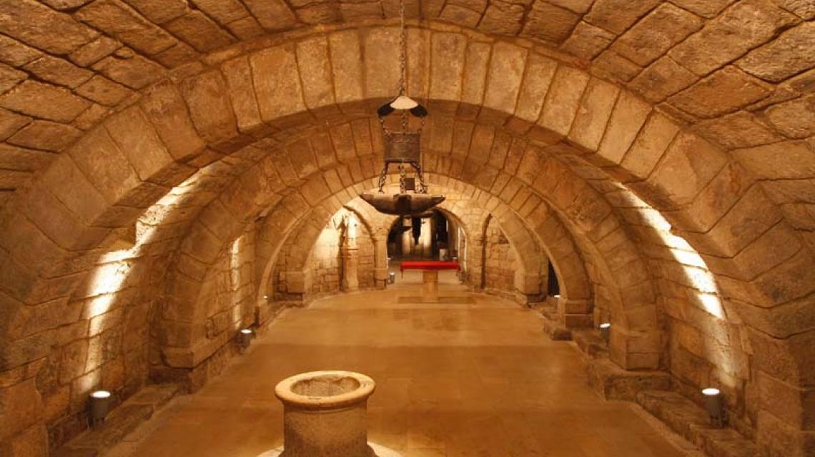 Cripta, catedral Palencia, Marce Alonso