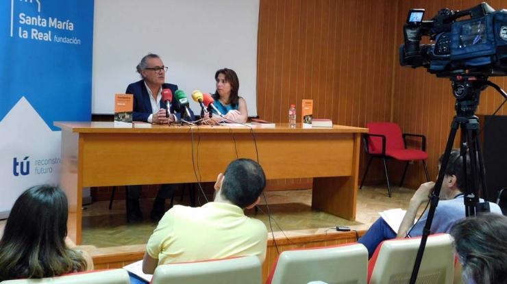 Un momento de la presentación de la guía en Palencia