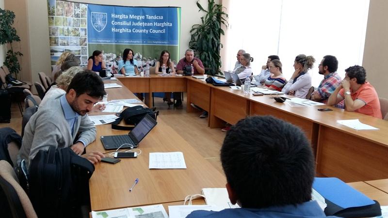 Reunión CDETA Rumanía