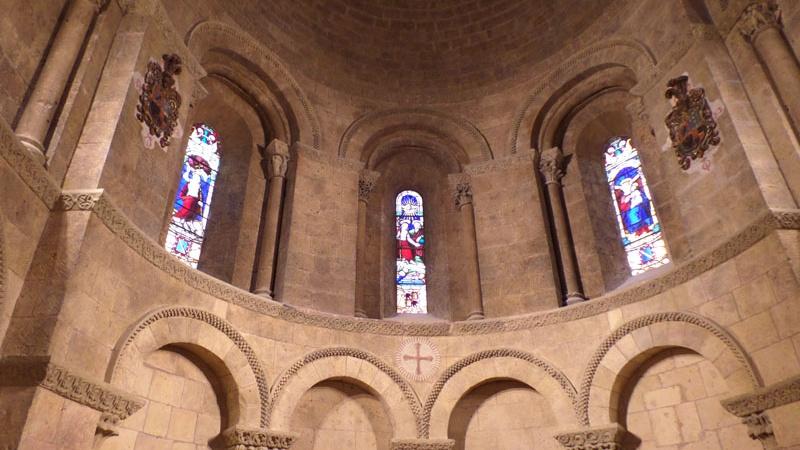 Detalle restauración iglesia de La Trinidad Segovia