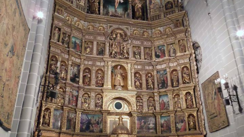 Retablo de la catedral de Palencia
